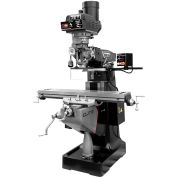 JET® 894334 EVS-949 Mill,2-Axis ACU-RITE 303 DRO,X, Y-Axis JET Powerfeeds,USA Powered Draw Bar