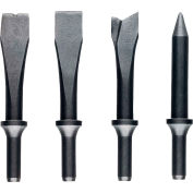 JET Jsg-1304, 4-Piece Chisel Set For Air Hammers
