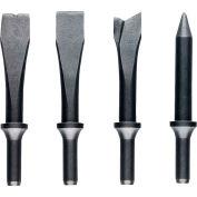 JET Jsg-1304, 4-Piece Chisel Set For Air Hammers