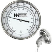 "5"" dial, 2 1/2"" stem, 1/2"" NPT, adjustable 0-250F"