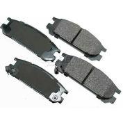 Akebono® Pro-ACT Series Ultra Premium Ceramic Disc Brake Pads - ACT471