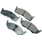 Akebono® Pro-ACT Series Ultra Premium Ceramic Disc Brake Pads - ACT642