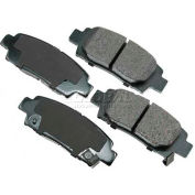 Akebono® Pro-ACT Series Ultra Premium Ceramic Disc Brake Pads - ACT672
