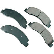 Akebono® Pro-ACT Series Ultra Premium Ceramic Disc Brake Pads - ACT824