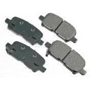 Akebono® Pro-ACT Series Ultra Premium Ceramic Disc Brake Pads - ACT999