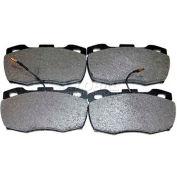 Beck/Arnley Semi-Metallic Brake Pad - 087-1243