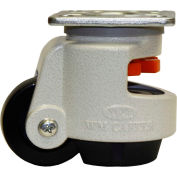 WMI ® Leveling Caster WGD-100F - 825 Lb. Capacity - Plate Mounted
