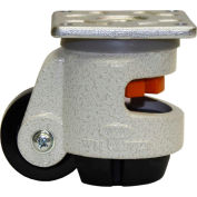 WMI ® Leveling Caster WGD-60F - 300 Lb. Capacity - Plate Mounted