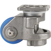WMI® Stainless Steel Leveling Caster WMS-150F - 1650 Lb. Capacity - Plate Mounted