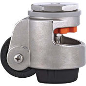 WMI® Stainless Steel Leveling Caster WMSPIN-100S - 990 Lb. Capacity - Stem Mounted