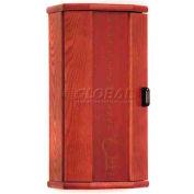 Wooden Mallet Fire Extinguisher Cabinet, 10 lb Cap, Mahogany, FEC20MH