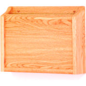 HIPPAA Compliant Chart Holder - Light Oak