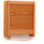 Wooden Mallet C-Fold/Multi-Fold Towel Dispenser Light Oak