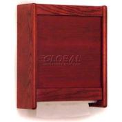 Wooden Mallet C-Fold/Multi-Fold Towel Dispenser Mahogany