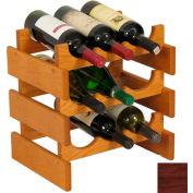 "9 Bottle Dakota™ Wine Rack, Mahogany, 14-1/2""H"