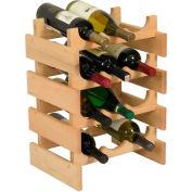 """12 Bottle Dakota™ Wine Rack, Unfinished, 19-1/8""""H"""