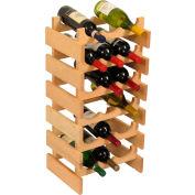 """18 Bottle Dakota™ Wine Rack, Unfinished, 28-3/8""""H"""