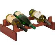 "4 Bottle Dakota™ Wine Rack, Mahogany, 5-1/4""H"