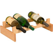 "4 Bottle Dakota™ Wine Rack, Unfinished, 5-1/4""H"
