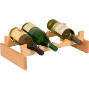 """4 Bottle Dakota™ Wine Rack, Unfinished, 5-1/4""""H"""