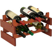 "8 Bottle Dakota™ Wine Rack, Mahogany, 9-7/8""H"