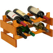 "8 Bottle Dakota™ Wine Rack, Medium Oak, 9-7/8""H"