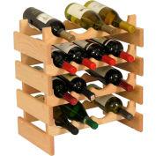 """16 Bottle Dakota™ Wine Rack, Unfinished, 19-1/8""""H"""