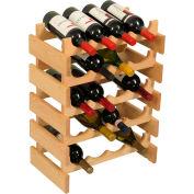 """20 Bottle Dakota™ Wine Rack, Unfinished, 23-3/4""""H"""