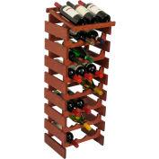 "24 Bottle Dakota™ Wine Rack with Display Top, Mahogany, 39-1/2""H"