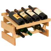 "8 Bottle Dakota™ Wine Rack with Display Top, Unfinished, 11-3/4""H"