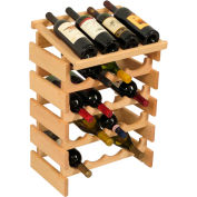 "20 Bottle Dakota™ Wine Rack with Display Top, Unfinished, 25-5/8""H"