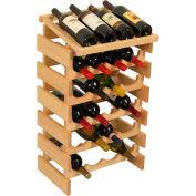 "24 Bottle Dakota™ Wine Rack with Display Top, Unfinished, 30-1/4""H"