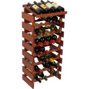 "32 Bottle Dakota™ Wine Rack with Display Top, Mahogany, 39-1/2""H"
