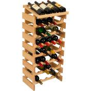 "32 Bottle Dakota™ Wine Rack with Display Top, Unfinished, 39-1/2""H"