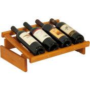 "4 Bottle Dakota™ Wine Display, Medium Oak, 6-1/2""H"