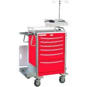 Waterloo Deluxe Aluminum Emergency Cart Accessory Package EMER-PKGA-DLX