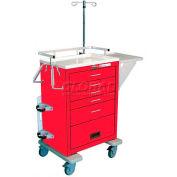 Waterloo Traditional Steel Emergency Cart Accessory Package EMER-PKGM
