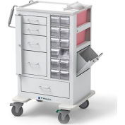 Waterloo Tall Phlebotomy | Specimen Collection Cart MTWA-34696-WHT