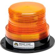 Wolo® Strobe Warning Light Permanent Mount 12-110 Volt Amber Lens - 3355P-B