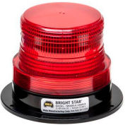 Wolo® Strobe Warning Light Permanent Mount 12-110 Volt Red Lens - 3360P-R