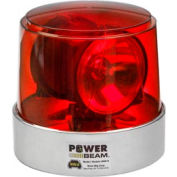 Power Beam Red Lens - Permanent Mount