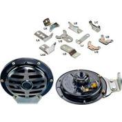 Wolo 370-La12l2 Industrial Series 370 Disc Horn, 12 Volt, 465 Hz - Min Qty 2