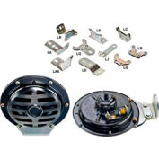 Wolo 370-La24l2 Industrial Series 370 Disc Horn, 24 Volt, 345 Hz - Min Qty 2