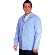Unisex Microstat ESD Short Coat, Blue, M