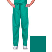 Unisex Scrub Pants, Non-Reversible, Jade, 5XL