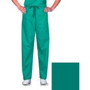 Unisex Scrub Pants, Non-Reversible, Jade, M