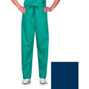 Unisex Scrub Pants, Non-Reversible, Navy, 5XL