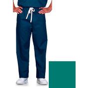 Unisex Scrub Pants, Reversible, Jade, 5XL