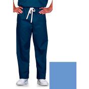Unisex Scrub Pants, Reversible, Ciel Blue, S