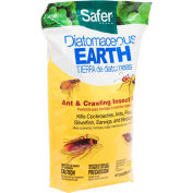 Safer® Brand Diatomaceous Earth - Bed Bug & Crawling Insect Killer, 4 Lb. Bag - 51703
